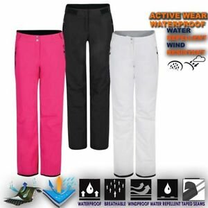 Womens-Ski-Trouser-Lightweight-Waterproof-Snow-Pant-Snowboard-Salopettes-Extort