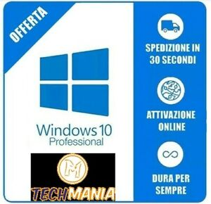 Licenza-Windows-10-Pro-Professional-32-64-Bit-Product-Key-Full-ESD