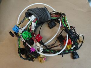 audi b5 s4 left front door wiring harness (2000 2002) ebay 2000 Nissan Xterra Wiring Harness image is loading audi b5 s4 left front door wiring harness