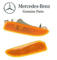 Mercedes W209 Clk320 Clk500 Clk55 Set Of Left & Right Turn Signal Lights Genuine on sale