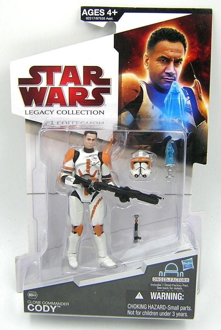 tienda de venta Estrella Estrella Estrella Wars Legado Colección BD44 Comandante Cody   precio mas barato