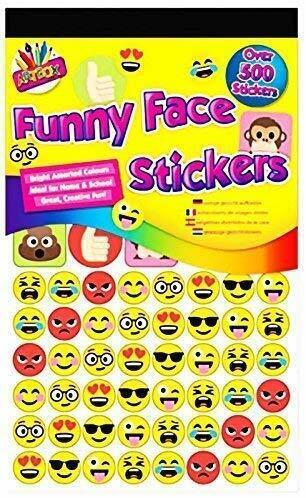 6811 Artbox 500 Reward Stickers Assorted Fun Achievement Kids