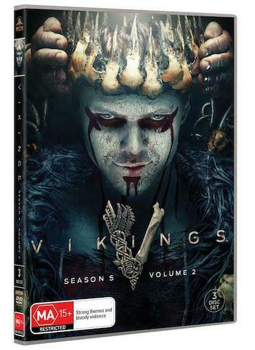 VIKINGS : Season 5 Part 2 : NEW DVD