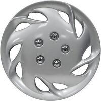 1 Piece Of 15 Inch Silver Hub Caps Full Lug Skin Rim Cover For Steel Wheels on sale