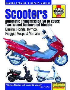 Daelim-Honda-Kymco-Piaggio-Vespa-Yamaha-50-80-125-150-200-SCOOTER-REPAIR-MANUAL
