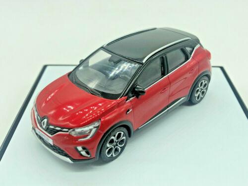 Renault Captur II maqueta de coche rojo//negro escala 1//43 nuevo//en el embalaje original