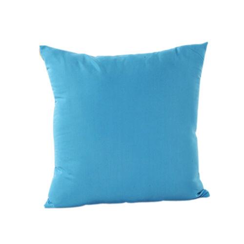 Vintage Cotton Solid Pure Linen Pillow Sofa Throw Cushion Cover Home Decor 9