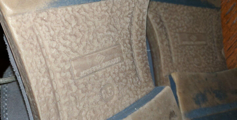 JOSEPH ABBOUD GRAY SUEDE DESERT BOOTS CHUKKA 8.5 M M M HIPSTER aac49a