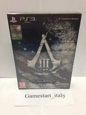 ASSASSIN'S CREED III 3 - JOIN OR DIE EDITION - PS3 - NUOVO SIGILLATO NEW