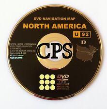 Toyota Navigation DVD Map Disc for Generation 6 Systems Version 10.1 U92 D Disk
