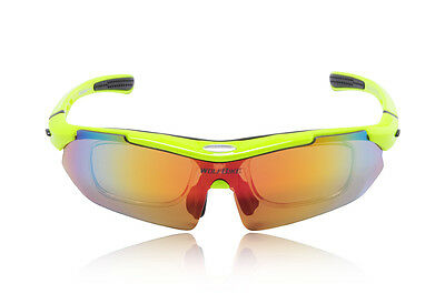 Polycarbonate Shooting Glasses 5 Sunglasses Lenses Cycling Waer + Accessories
