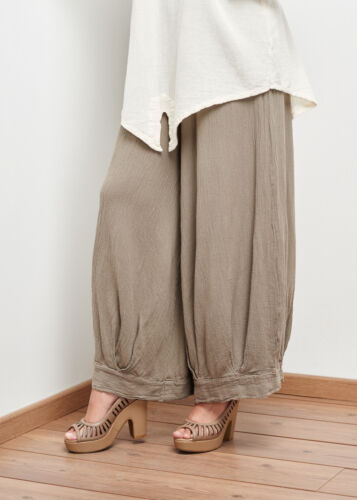 Oh My Gauze Saturn Harem Pant 100/% Comfortable Cotton Lagenlook