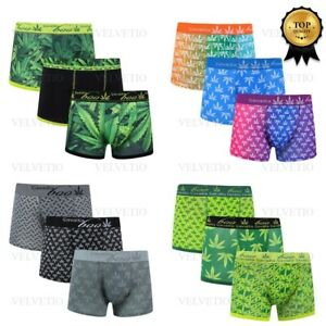 Mens-Underwear-Boxer-Shorts-Under-Pants-Sports-Trunks-All-Sizes-Pack-of-3-6-9-12