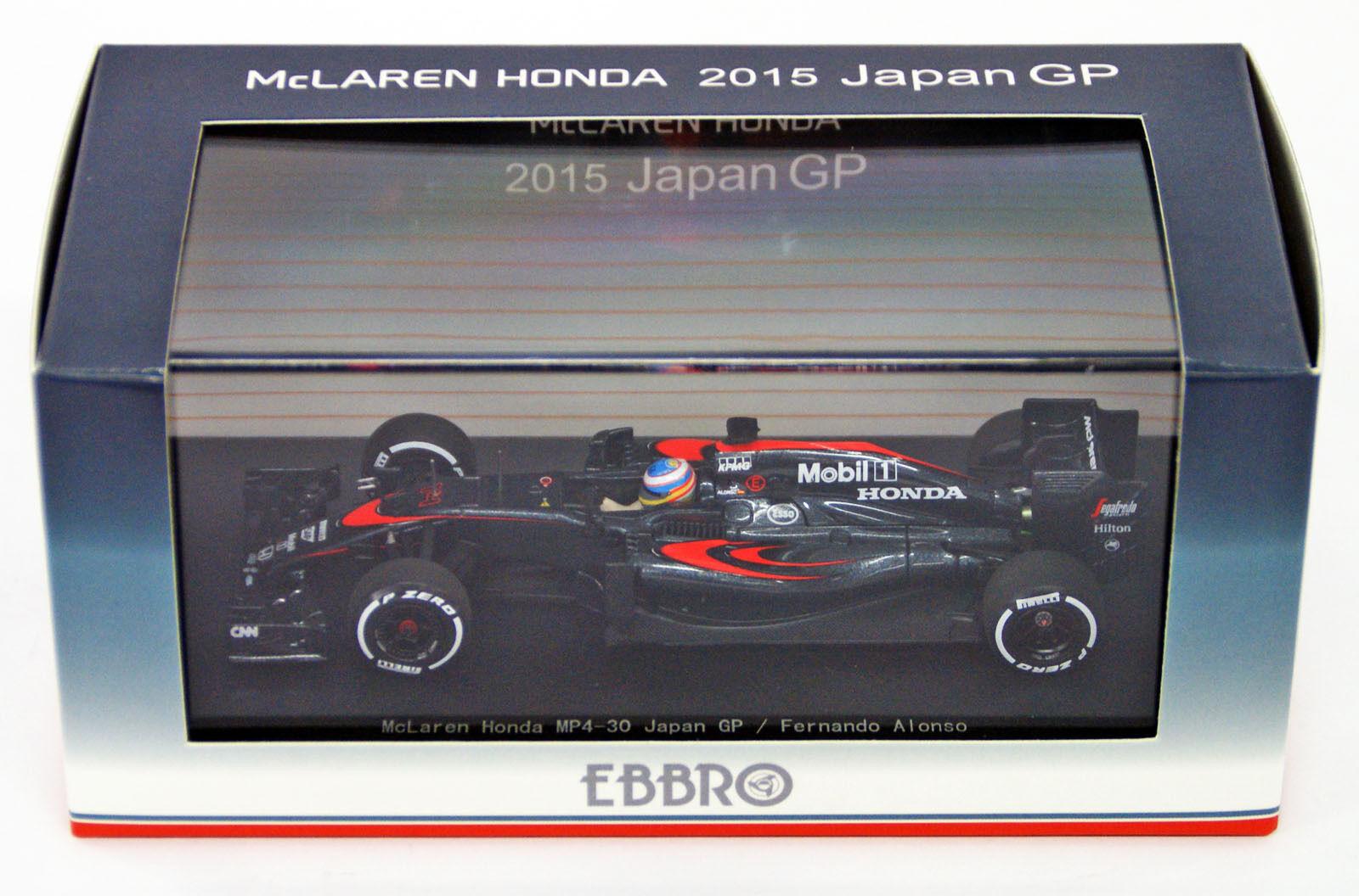 precio razonable Ebbro 45328 McLaren Honda MP4-30 GP GP GP No.14 Fernando Alonso 1 43 Escala  precios ultra bajos