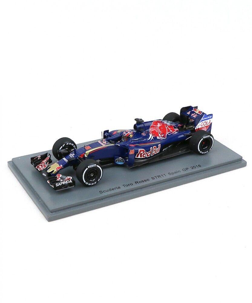 Nuevo Spark 1/43 Scuderia Toro Rosso STR11 España GP 2018 Daniil Kvyat F1 Japón