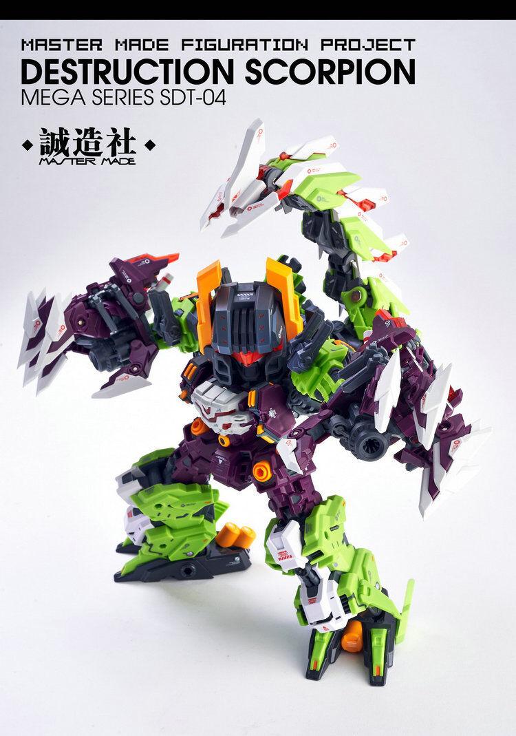 Maître Fait Transformers SDT-04 destruction Scorpion megazarak Figure