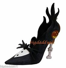 New Disney Park Nightmare Before Christmas Jack Skellington Shoe Ornament Figure