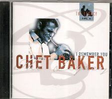 CD ALBUM 5 TITRES--CHET BAKER--I REMEMBER YOU / THE LEGACY COPENHAGEN 1985