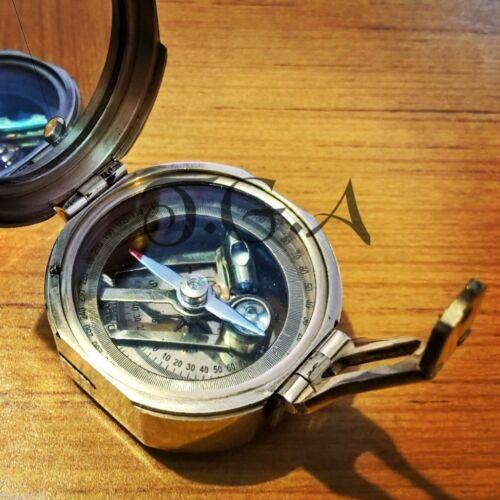 Messing Brunton Kompass Maritime Wassersammler