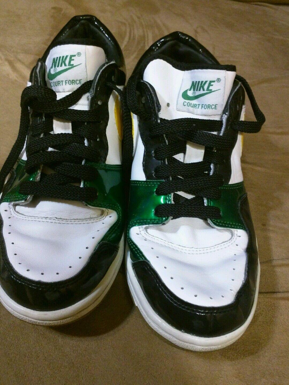 Nike Court Force low Rasta size 8.5 men