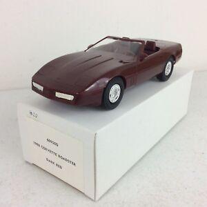 1988-Chevrolet-Corvette-Roadster-Dark-Red-Dealer-Promotional-Model-Car