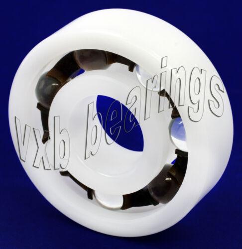 Plastic Bearing POM 6009 Glass Balls 45x75x16mm Ball Bearings Rolling