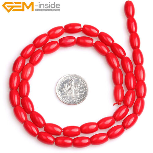 """Dyed Genuine Coral Loose Beads For Jewelry Making 15/"""" Wholesale Jewelry Beads"""
