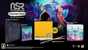 No Straight Roads Collector's Edition LP Record Art Book PS4