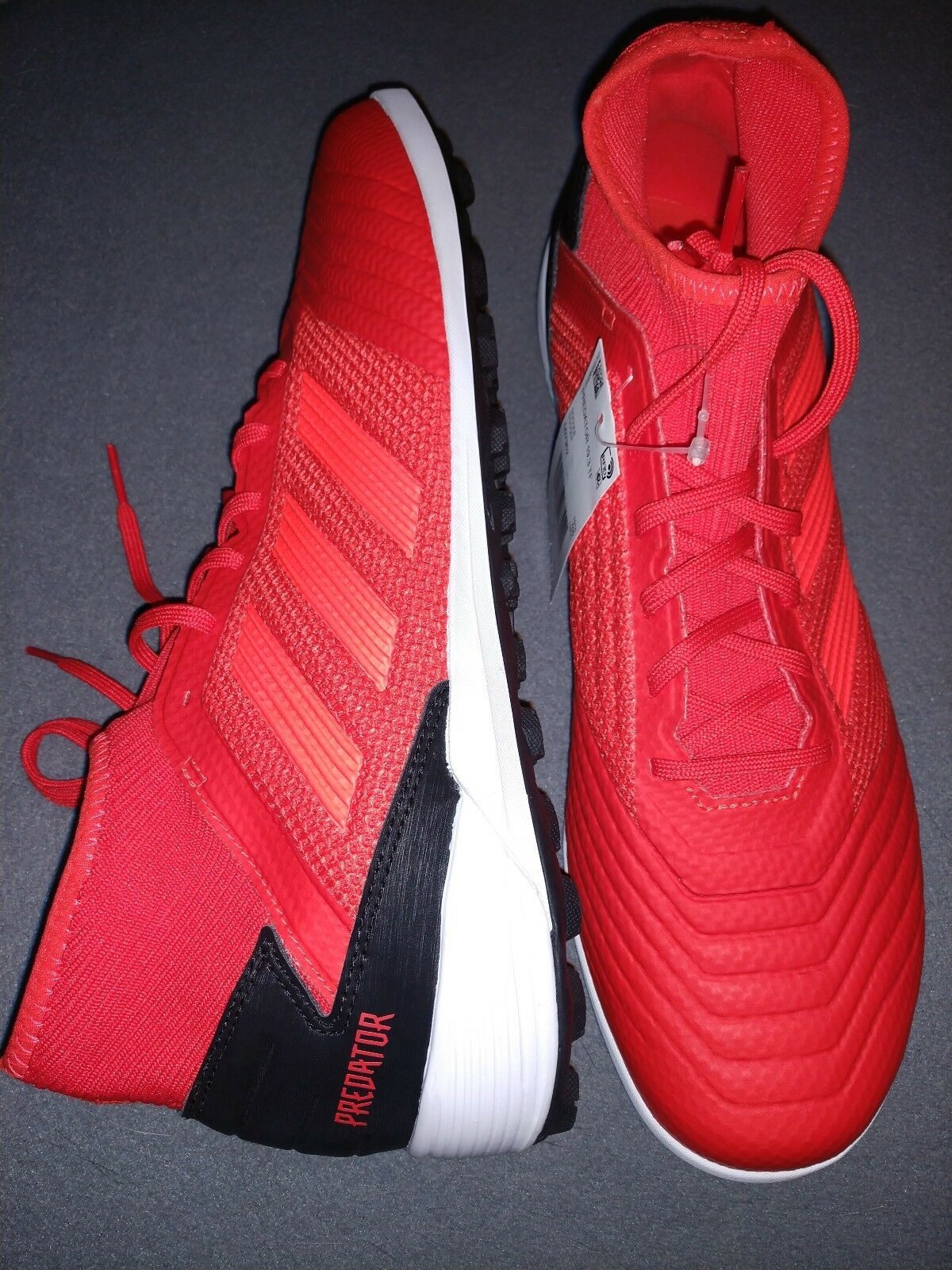Adidas  PREDATOR TANGO 19.3 TURF shoes Active Red Black White D97962 Men's Sz 11
