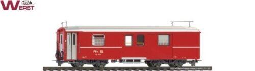 Bemo 3248112 Gepäckwagen DZ 4232 RhB mit roter RhB Schrift H0m NEU /& OVP