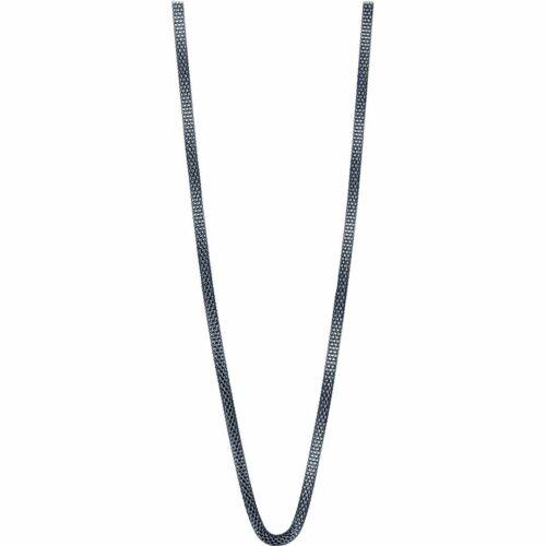 BERING Damen-Kette Milanaise für Charms Edelstahl blau 45cm 423-70-450