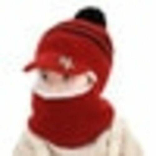 Gorros De Invierno Para Niños Calido Con Tortuguera Grueso Calido Pasamontañas