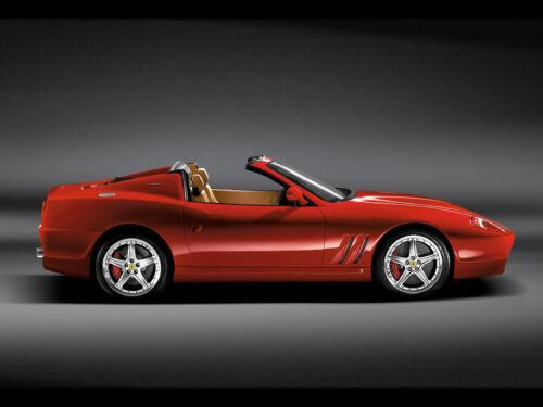 CANVAS  Ferrari Art print POSTER 575-Superamerica 2005
