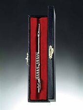 "Miniature Musical Instrument - 3"" Flute MINIATURE WITH CASE (CSFL10)"