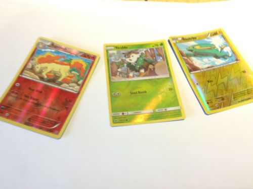 Pokemon used cards 14x cards per packet 10x Pokemon 2x trainers and 2x energy