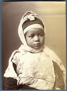 Algerie-Enfant-Kabyle-Vintage-albumen-print-Vintage-Algeria-Tirage-albumin