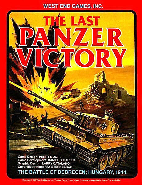 Last Panzer Victory   Battle of Debrecen Hungary 1944 West End Games UNPUNCHED