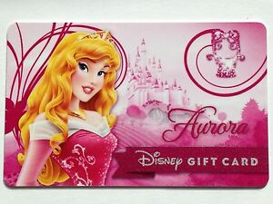 12e3f79a27239 Image is loading WALT-DISNEY-PRINCESS-AURORA-GIFT-CARD-Disneyland-Sparkle-