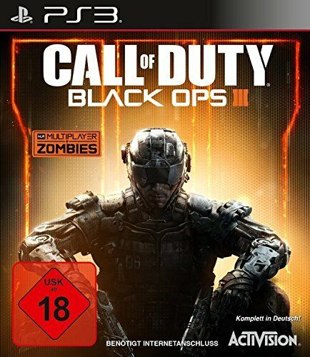 PS3 Play Call of Duty:Black Ops (III) 3 dt. Version NEW