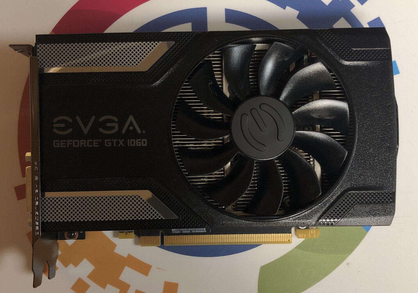 EVGA GeForce GTX 1060 3GB GDDR5 Graphics Card | 03G-P4-6162-KR