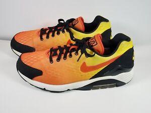 f836824837 Nike Air Max 180 EM SZ 13 Sunset Pack 2013 Team Orange Black 579921 ...