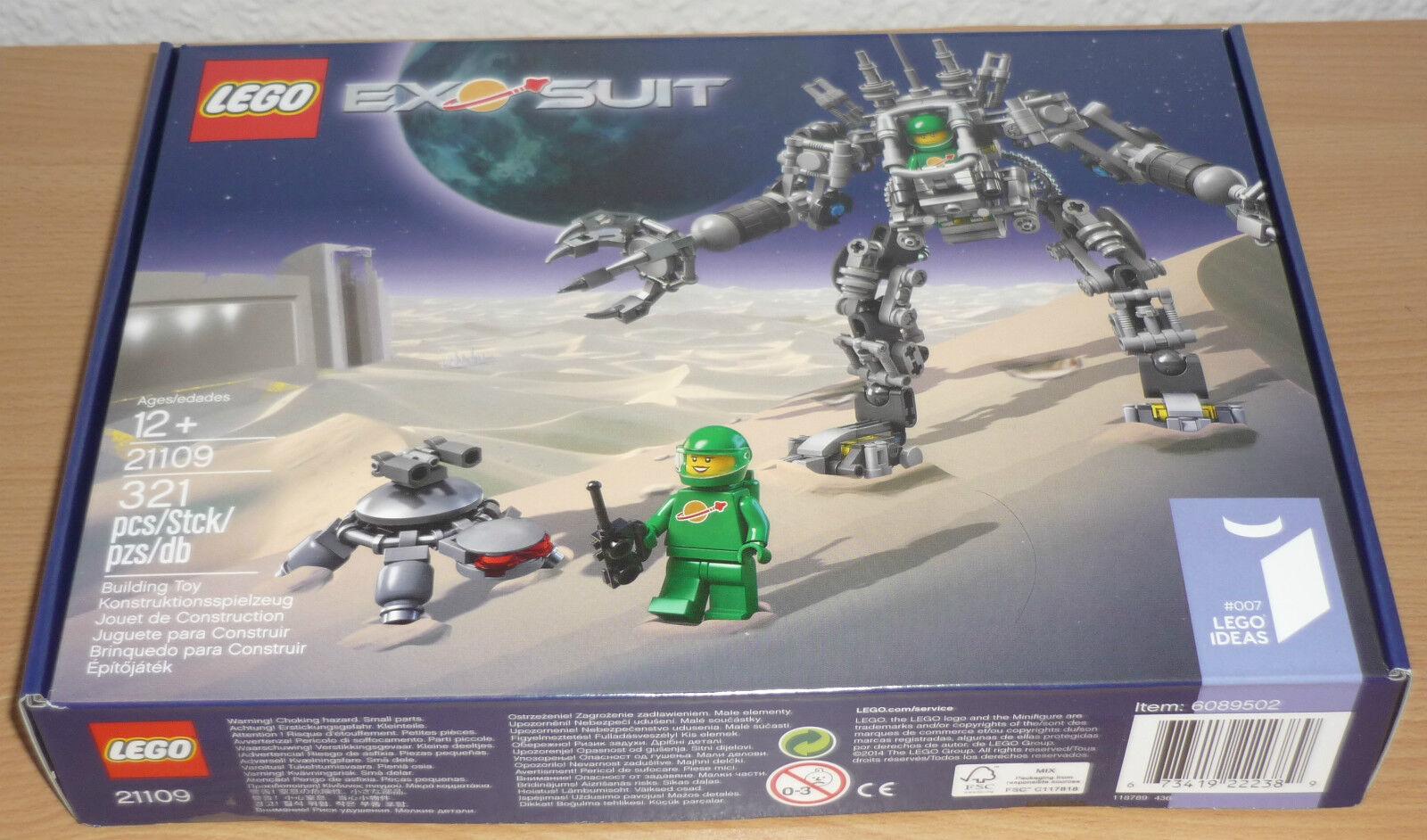 Lego Weltraum 21109 ExoSuit ExoSuit ExoSuit mit Karton (verschlossen) 862049