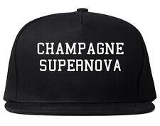 Kings of NY CHAMPAGNE SUPERNOVA OASIS Snapback Hat Cap Black Red Blue Grey
