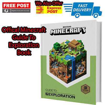 Official Minecraft Book Guide To Exploration Minecraft Strategy Guide Book  9781405285971 | eBay
