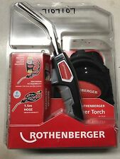ROTHENBERGER TRIGGER TORCH WITH HOLSTER 3.4120