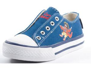 Capt-n-Sharky-160061-Kinderschuhe-Stoffschuhe-Schuhe-blau-Gr-25-30-Neu3
