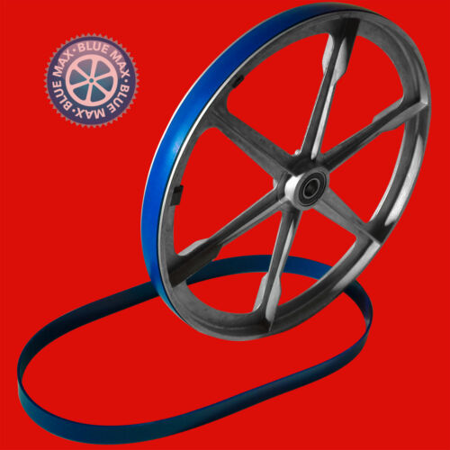 """2 BLUE MAX ULTRA DUTY URETHANE BAND SAW TIRE SET FOR GRIZZLY G0803 9/""""  BAND SAW"""