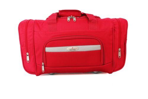 """U5003 19/"""" High Quality Lightweight Holdall Duffle Cargo Travel Cabin Gym Bag"""