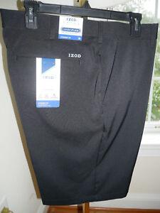 Izod-Golf-Shorts-Straight-Fit-Men-039-s-32-42-NEW-Peacoat-Black-Khaki-Gray