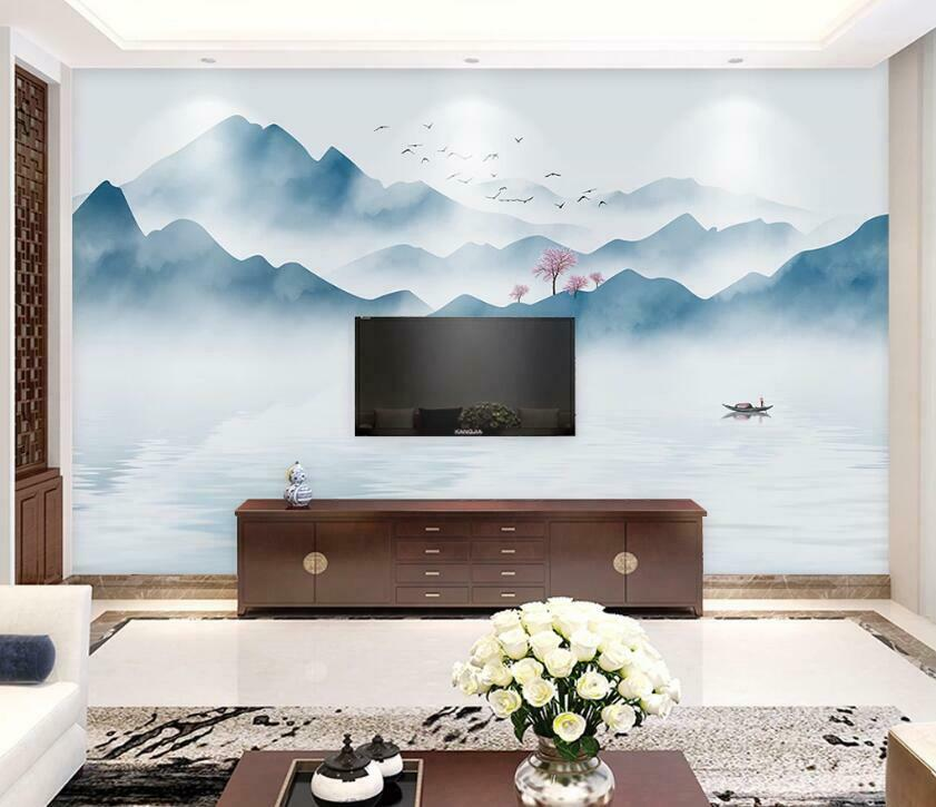 3D Landscape Art N2329 Wallpaper Wall Mural Removable Self-adhesive Sticker Amy